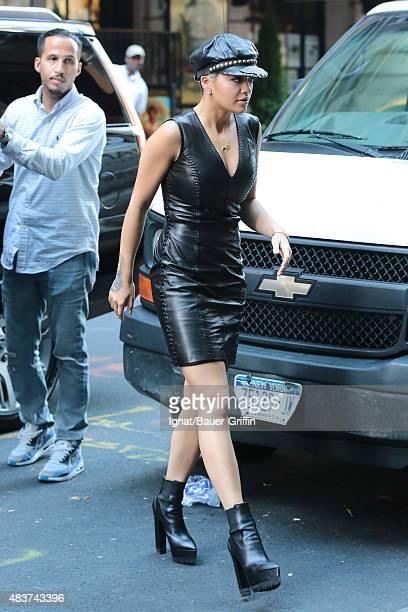 Rita Ora is seen on August 12 2015 in New York City