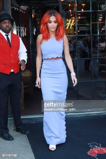 Rita Ora is seen on June 11 2018 in New York City