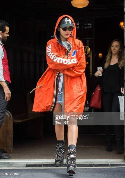 Rita Ora is seen on May 1 2017 in New York City