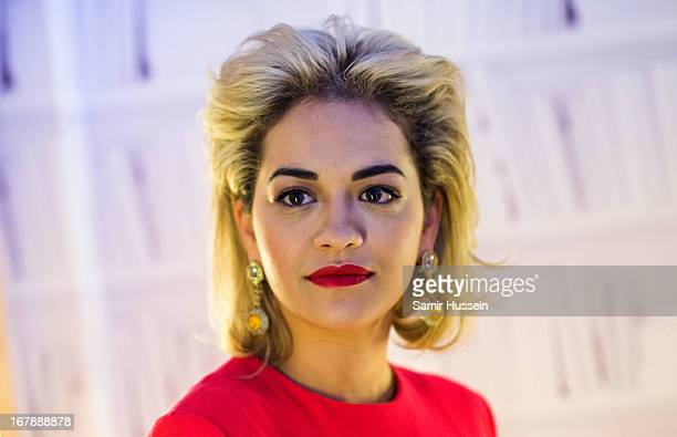 Rita Ora launches the British Designers' Collection at Bicester Village on May 2 2013 in Bicester England