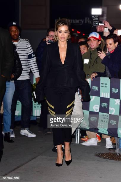 Rita Ora leaves Build Studio on December 7 2017 in New York City