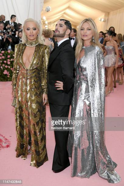 Rita Ora, Marc Jacobs and Kate Moss attend The 2019 Met Gala Celebrating Camp: Notes on Fashion at Metropolitan Museum of Art on May 06, 2019 in New...