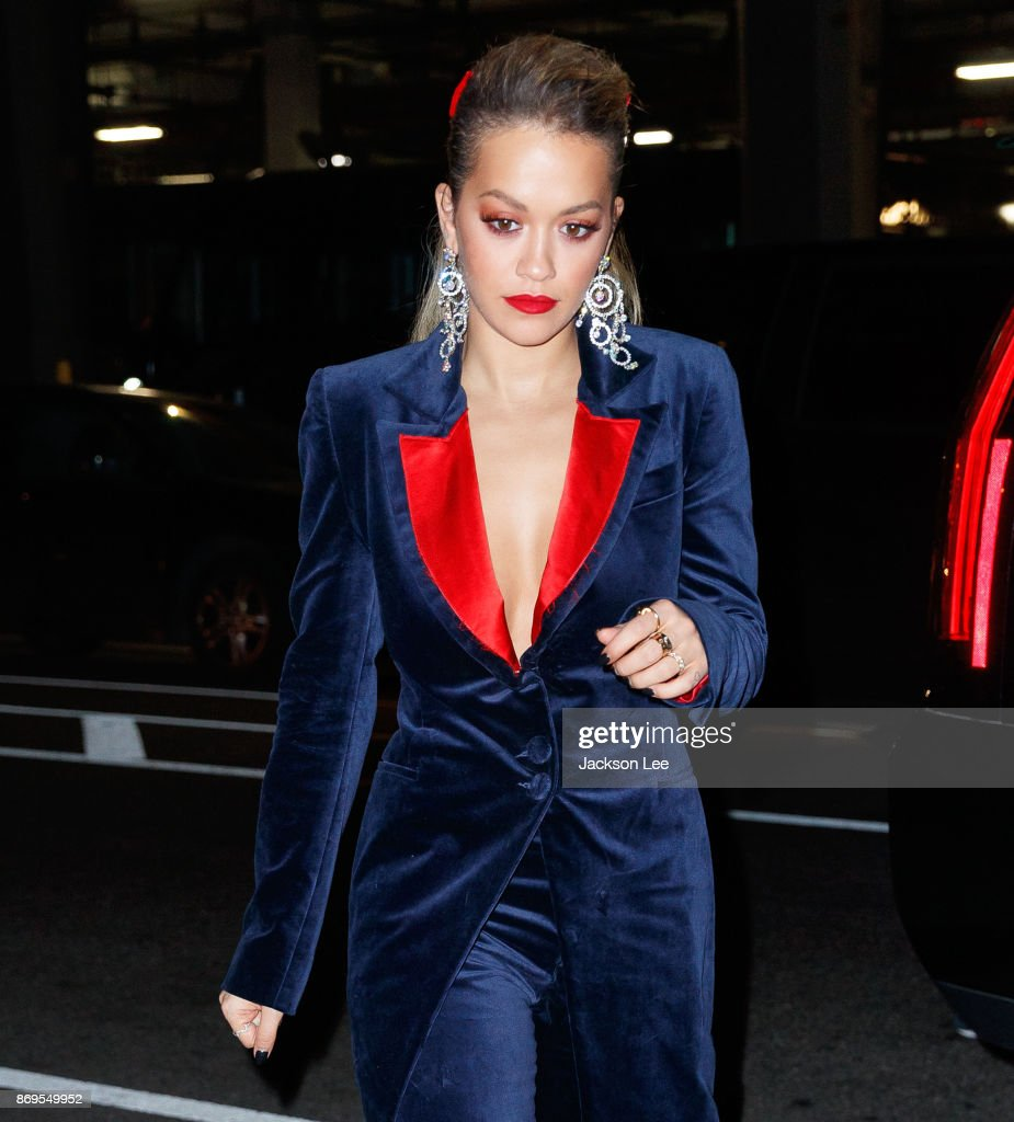 Rita Ora on November 2, 2017 in New York City.