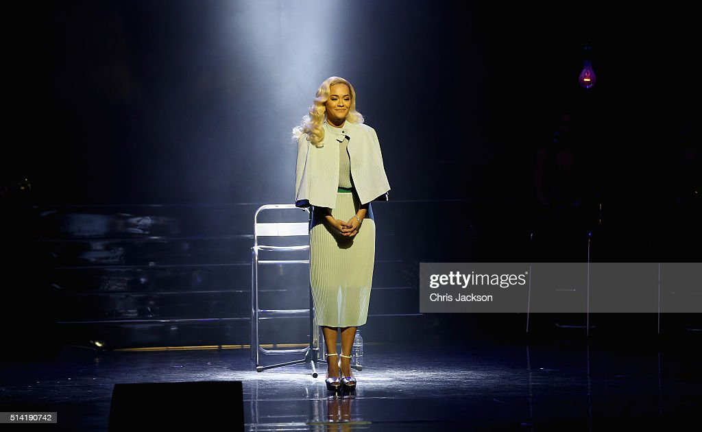 Rita Ora on stage during the Prince's Trust Celebrate Success Awards at the London Palladium on March 7, 2016 in London, England.