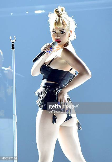 Rita Ora performs at Fashion Rocks 2014 on September 9 2014 in New York United States