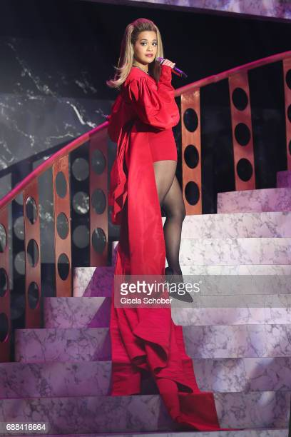 Rita Ora performs at the amfAR Gala Cannes 2017 at Hotel du CapEdenRoc on May 25 2017 in Cap d'Antibes France