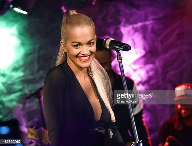 Rita Ora performs at The Loft at Center Stage on September 11 2015 in Atlanta Georgia