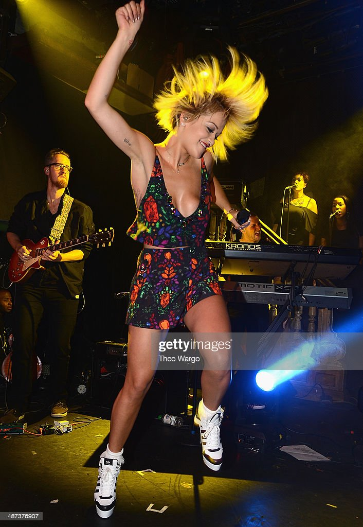 Rita Ora performs 'I Will Never Let You Down' and more at private showcase at The Box on April 29, 2014 in New York City.