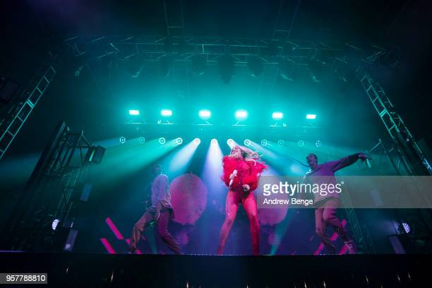 Rita Ora performs live on stage at O2 Academy Leeds on May 12 2018 in Leeds England