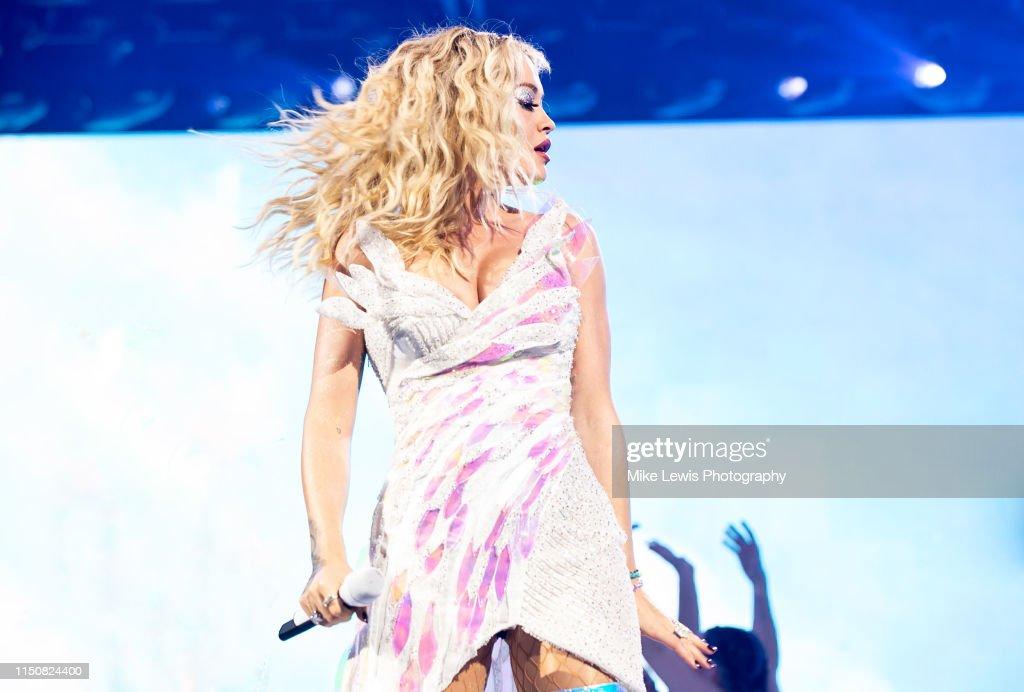 GBR: Rita Ora Performs At Motorpoint Arena Cardiff