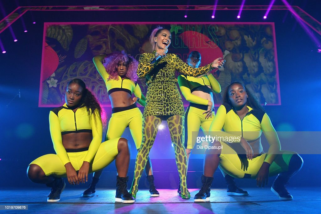 Rita Ora performs onstage during the MTV VMA Kickoff Concert presented by DirecTV Now at Terminal 5 on August 19, 2018 in New York City.