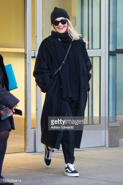 Rita Ora seen at JFK airport on November 20 2018 in New York City