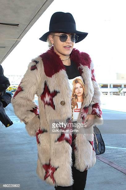 Rita Ora seen at LAX on December 09 2014 in Los Angeles California