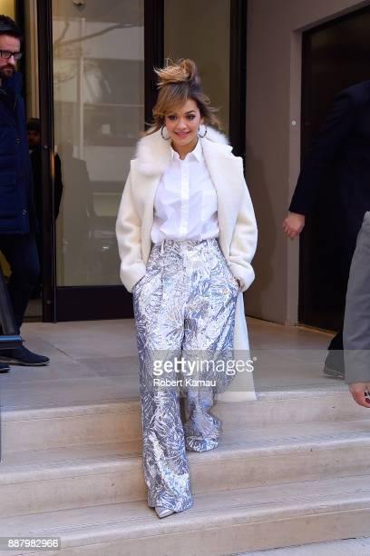 Rita Ora seen in Manhattan on December 7 2017 in New York City
