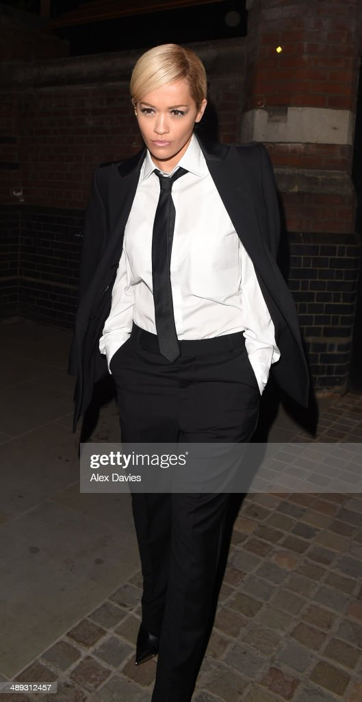 Celebrity Sightings In London - May 10, 2014 : News Photo