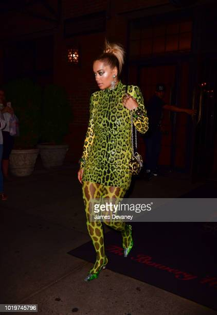 Rita Ora seen on the streets of Manhattan on August 19 2018 in New York City