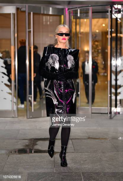 Rita Ora seen on the streets of Manhattan on December 17 2018 in New York City