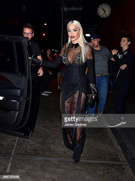 Rita Ora seen on the streets of Manhattan on September 16 2015 in New York City