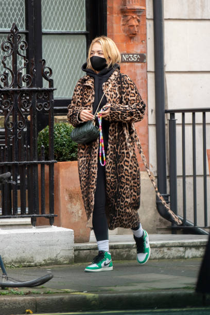 GBR: London Celebrity Sightings - November 18, 2020