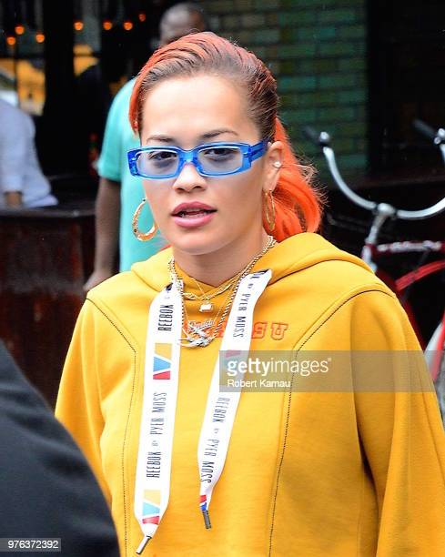 Rita Ora seen out and about in Manhattan on June 13 2018 in New York City