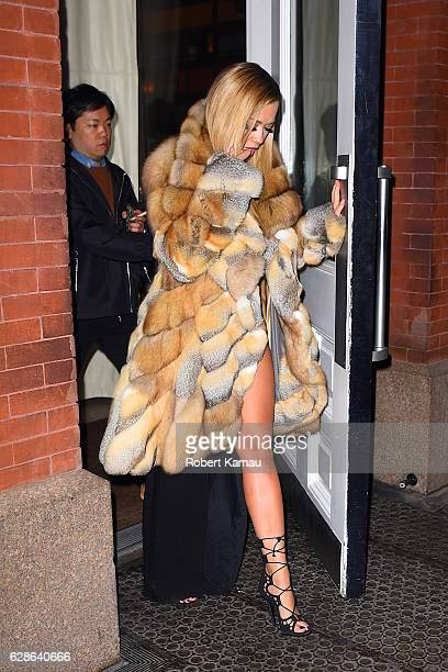 Rita Ora seen out in SoHo on December 8 2016 in New York City