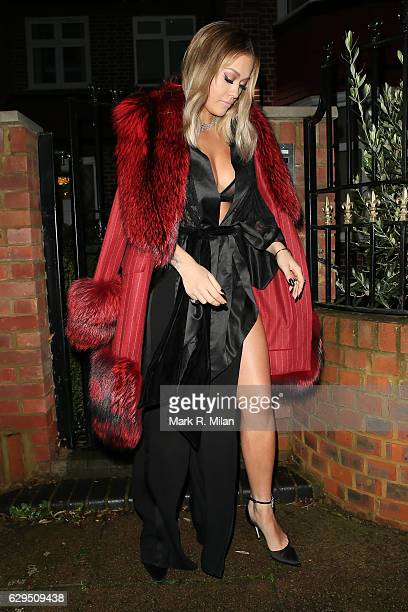 Rita Ora sighting on December 13 2016 in London England
