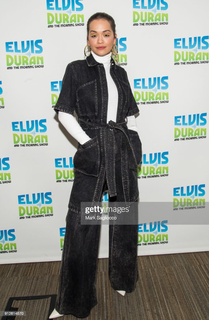 "Liam Payne And Rita Ora Visit ""The Elvis Duran Z100 Morning Show"""