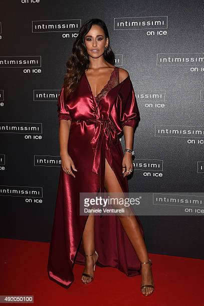 Rita Pereira attends Intimissimi On Ice 2015 on October 9 2015 in Verona Italy