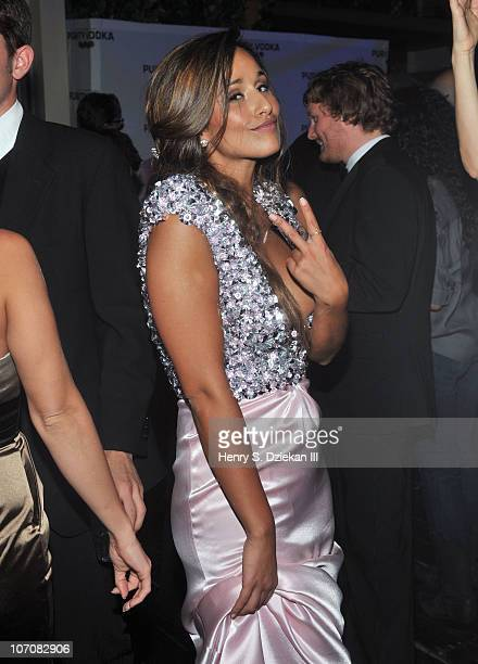 Rita Pereira attends The 2010 International Emmys and Angel Champagne at Hudson Terrace on November 22 2010 in New York City