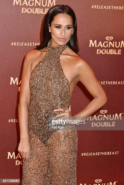 Rita Pereira attends the Magnum Doubles Party The 69th Annual Cannes Film Festival at Plage Magnum on May 12 2016 in Cannes France