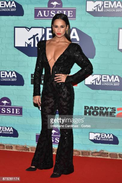 Rita Pereira attends the MTV EMAs 2017 at The SSE Arena Wembley on November 12 2017 in London England