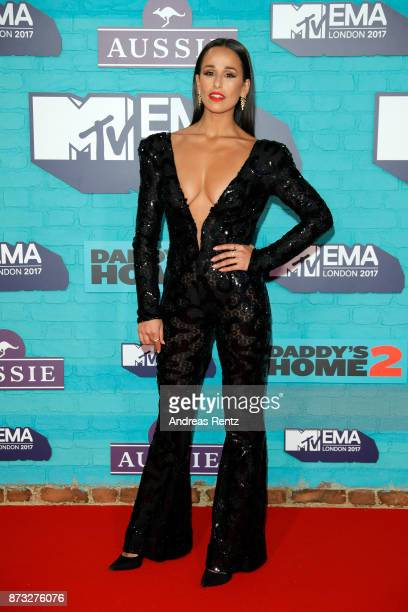 Rita Pereira attends the MTV EMAs 2017 held at The SSE Arena Wembley on November 12 2017 in London England
