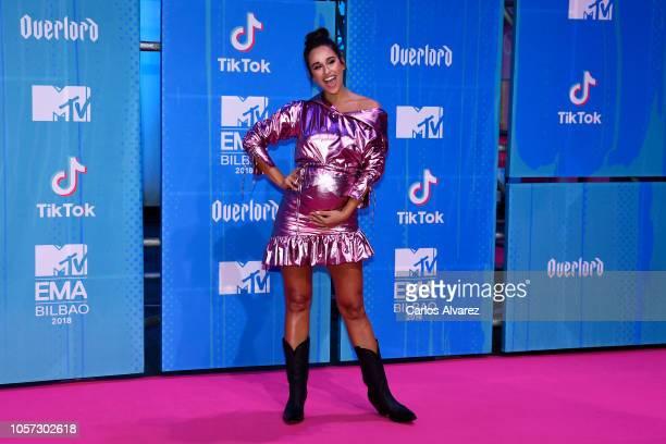 Rita Pereira attends the MTV EMAs 2018 at Bilbao Exhibition Centre on November 4 2018 in Bilbao Spain