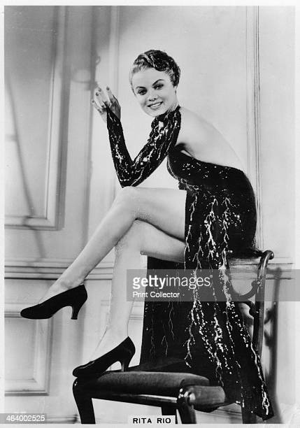 Rita Rio American singer dancer and film actress c1938 Rita Rio also appeared under the names Una Velon and Rita Shaw before settling on the stage...