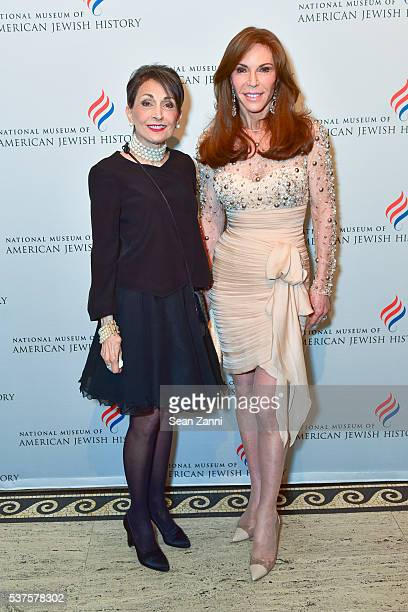 Rita Rome and Caroline Kimmel attend National Museum of American Jewish History Only in America Gala at Gotham Hall on June 1 2016 in New York City