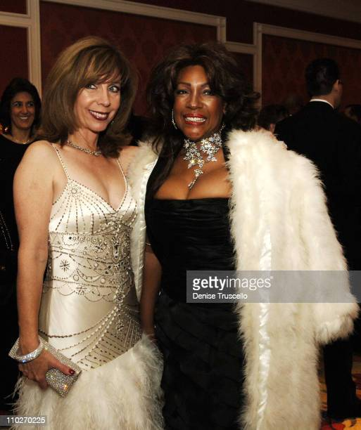 Rita Rudner and Mary Wilson during Nevada Ballet Theatre Honors Rita Rudner as Woman of the Year 2006 at Wynn Hotel and Casino Resort in Las Vegas...