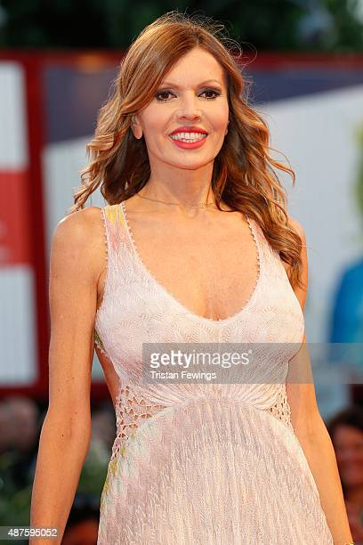 Rita Rusic attends a premiere for 'Remember' during the 72nd Venice Film Festival at Sala Grande on September 10 2015 in Venice Italy