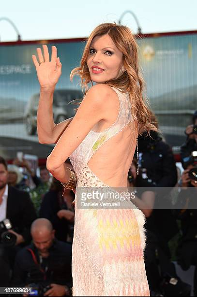 Rita Rusic attends a premiere for 'Taj Mahal' during the 72nd Venice Film Festival at Sala Grande on September 10 2015 in Venice Italy