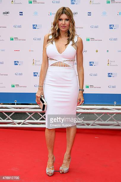 Rita Rusic attends the '2015 David Di Donatello' Awards Ceremony at Teatro Olimpico on June 12 2015 in Rome Italy