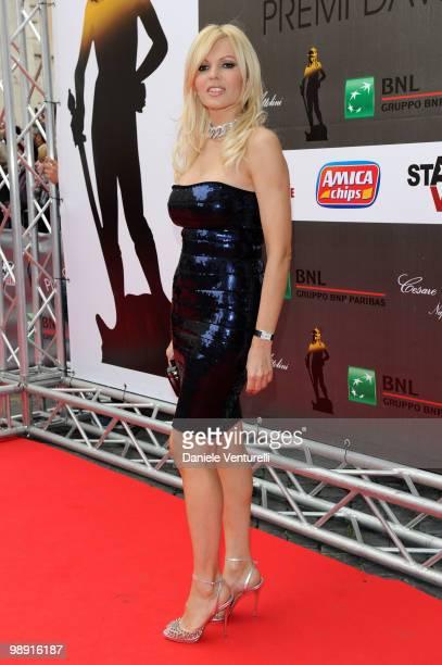 Rita Rusic attends the 'David Di Donatello' movie awards at the Auditorium Conciliazione on May 7 2010 in Rome Italy