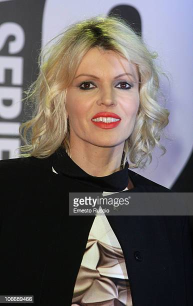 Rita Rusic attends the Romanzo Criminale 2 Red Carpet at the Cinema Moderno on November 10 2010 in Rome Italy