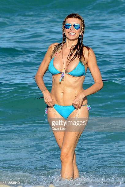 Rita Rusic is seen on Miami Beach on September 7 2014 in Miami Florida