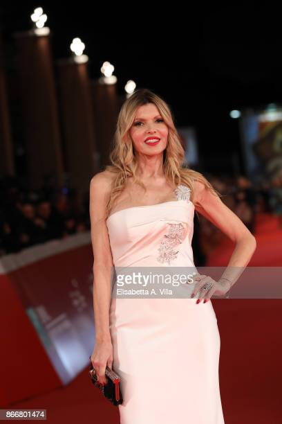 Rita Rusic walks a red carpet for Hostiles during the 12th Rome Film Fest at Auditorium Parco Della Musica on October 26 2017 in Rome Italy