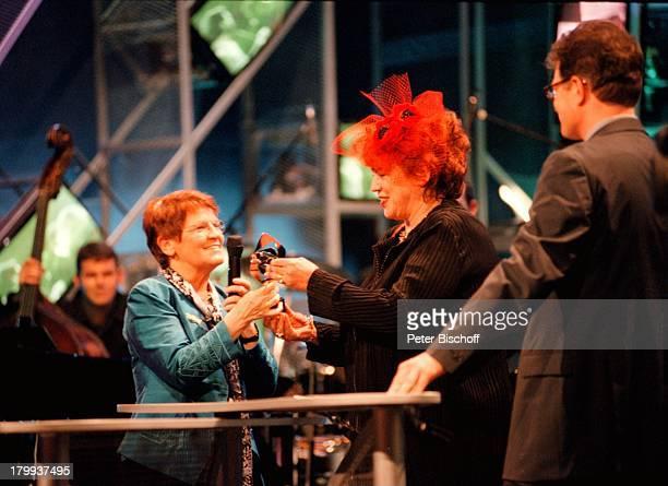 Rita Süssmuth Regina Ziegler AdolfGrimme Preis Verleihung 99 Stadt MarlTheater