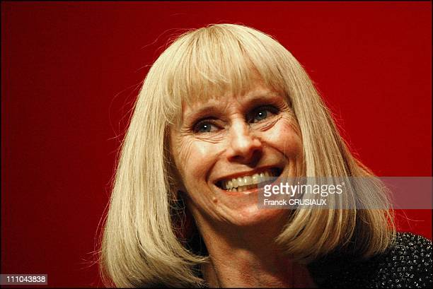 Rita Tushingham after the first round of the regional election in Valenciennes France on March 21 2004