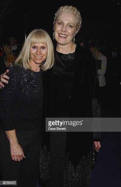Rita Tushingham and Lynn Redgrave attend the UK Premiere Party for Peter Pan The Movie on the Embankment on December 10 2003 in London