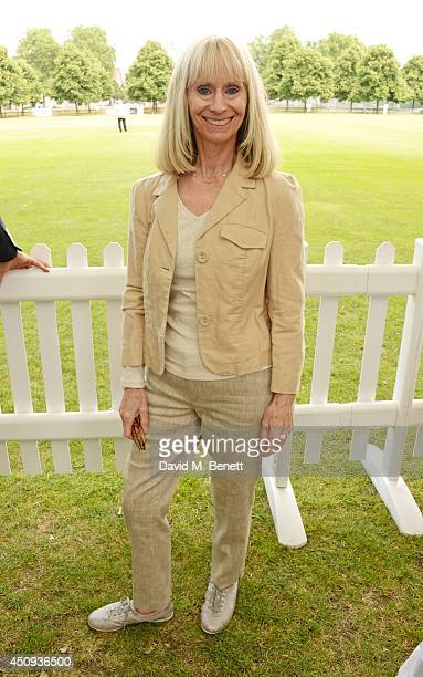 Rita Tushingham attends the 'Dockers Flannels For Heroes' cricket match at Burton Court Chelsea on June 20 2014 in London United Kingdom