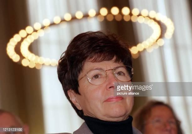 Rita Waschbüsch Vorsitzende des Vereins donum vitae und frühere ZdKPräsidentin aufgenommen am vor Beginn der Herbstvollversammlung des...