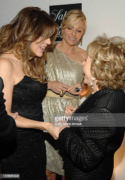 Rita Wilson and Anne Douglas attend An Unforgettable Evening Benefiting EIF's Women's Cancer Research Fund at the Beverly Wilshire Four Seasons Hotel...