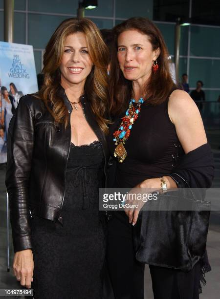 Rita Wilson and Mimi Rogers during My Big Fat Greek Wedding Hollywood Premiere at ArcLight Theatre in Hollywood California United States